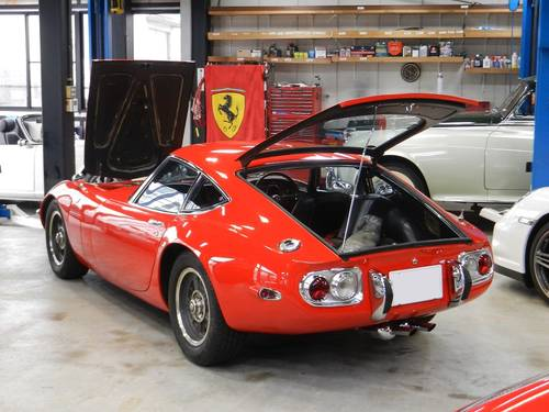 1-owner 1968 2000GT 16,000km For Sale (picture 5 of 6)