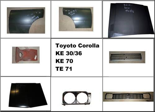 Toyota Corolla KE 30/36 - KE 70 -TE 71. For Sale (picture 1 of 1)