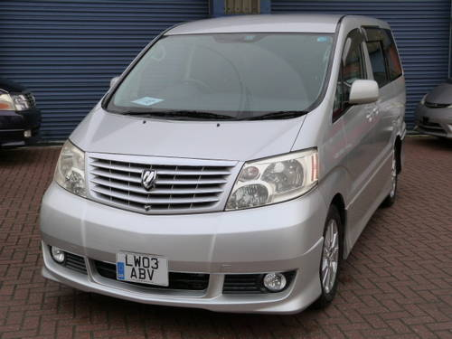 2003 Toyota Alphard 3.0 V6 VVT-i Auto  For Sale (picture 1 of 6)