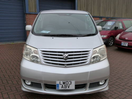 2003 Toyota Alphard 3.0 V6 VVT-i Auto  For Sale (picture 4 of 6)