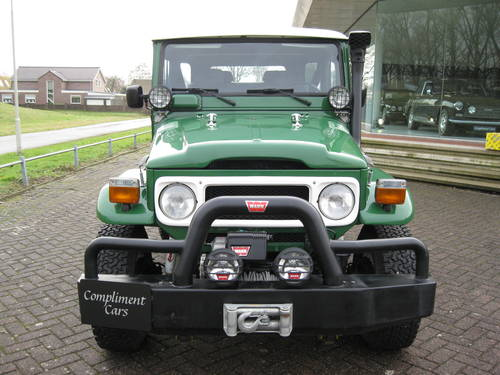 1981 Toytota Landcruiser BJ42 € 29.900 For Sale (picture 1 of 6)