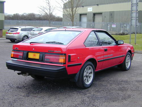 1984 TOYOTA CELICA AA63 1.6 GT R - RHD - JUST 38K! - TIME WARP! For Sale (picture 3 of 6)