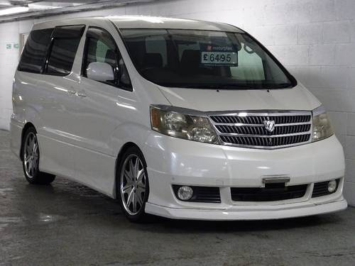 2002 Toyota Alphard G 3.0 V6 8 Seats Auto/Tip FULL BODY KIT 5dr  For Sale (picture 1 of 6)