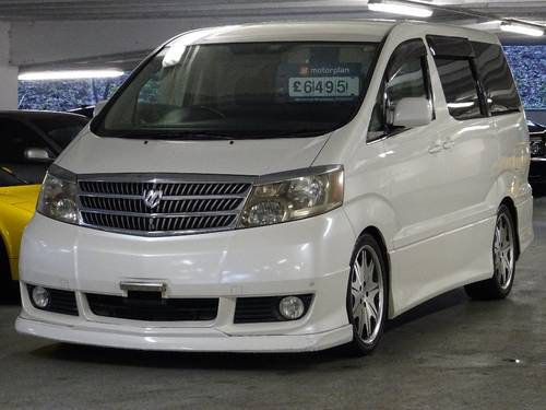 2002 Toyota Alphard G 3.0 V6 8 Seats Auto/Tip FULL BODY KIT 5dr  For Sale (picture 4 of 6)