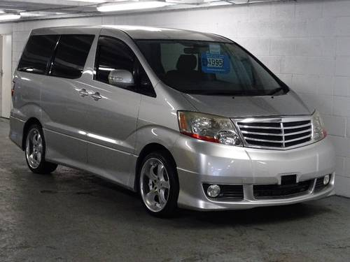 2002 Toyota Alphard G 3.0 V6 VVTi Auto Tip 7 Seats Body Kit 5dr  For Sale (picture 1 of 6)