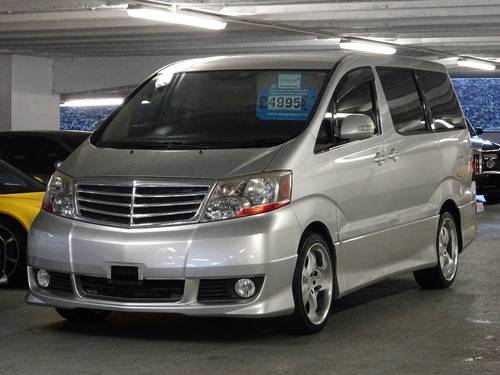 2002 Toyota Alphard G 3.0 V6 VVTi Auto Tip 7 Seats Body Kit 5dr  For Sale (picture 4 of 6)
