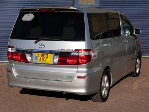 2003 Toyota Alphard 3.0 V6 VVT-i Auto For Sale (picture 3 of 6)