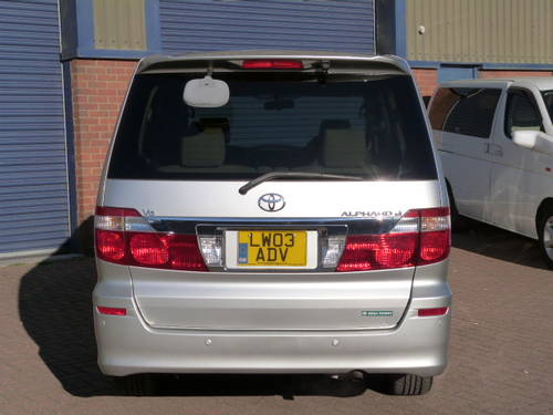 2003 Toyota Alphard 3.0 V6 VVT-i Auto For Sale (picture 6 of 6)