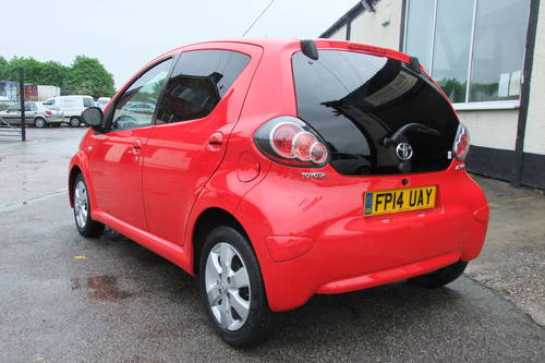 2014 TOYOTA AYGO 1.0 VVT-I MOVE WITH STYLE 5DR Manual SOLD (picture 3 of 6)