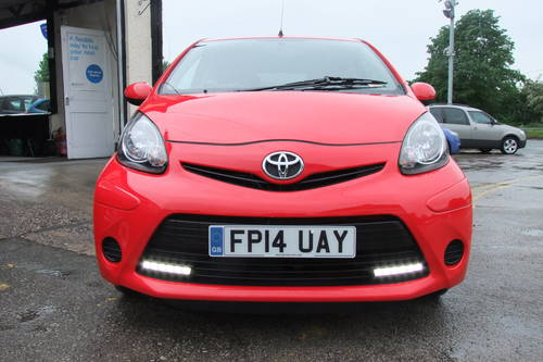 2014 TOYOTA AYGO 1.0 VVT-I MOVE WITH STYLE 5DR Manual SOLD (picture 4 of 6)