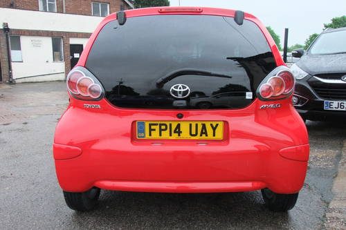 2014 TOYOTA AYGO 1.0 VVT-I MOVE WITH STYLE 5DR Manual SOLD (picture 5 of 6)