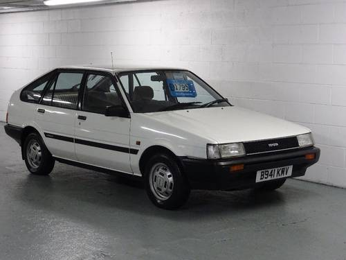 1984 Toyota Corolla 1.3 GL 5dr AUTO 2 OWNERS FROM NEW For Sale (picture 1 of 6)