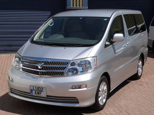 2002 Toyota Alphard MX-L 3.0 V6 VVT-i Auto For Sale (picture 1 of 6)