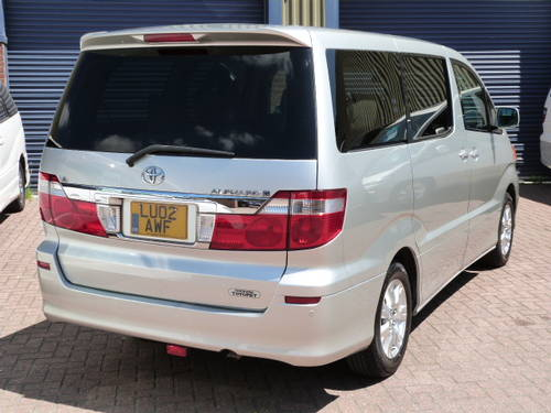 2002 Toyota Alphard MX-L 3.0 V6 VVT-i Auto For Sale (picture 3 of 6)