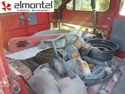 1980 Toyota Land Cruiser BJ40 red parts SOLD | Car And Classic