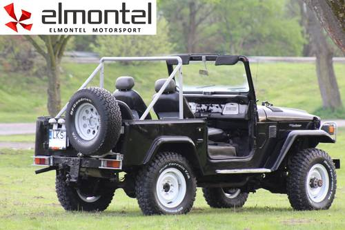 Toyota Land Cruiser BJ40 3,0D 1977 black cabrio For Sale (picture 2 of 6)
