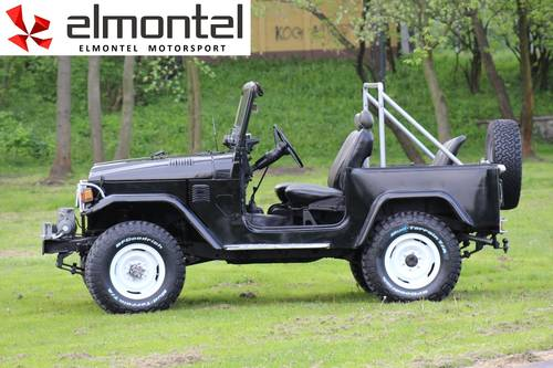 Toyota Land Cruiser BJ40 3,0D 1977 black cabrio For Sale (picture 3 of 6)