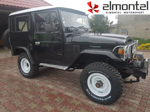 Toyota Land Cruiser BJ40 3,0D 1977 black cabrio For Sale (picture 5 of 6)