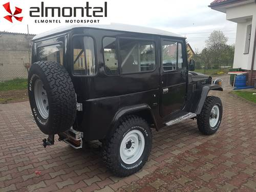 Toyota Land Cruiser BJ40 3,0D 1977 black cabrio For Sale (picture 6 of 6)