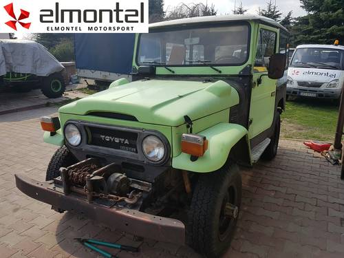 Toyota Land Cruiser BJ40 3,0D 1977 mechanic winch For Sale (picture 1 of 6)