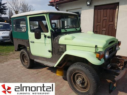 Toyota Land Cruiser BJ40 3,0D 1977 mechanic winch For Sale (picture 2 of 6)