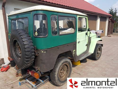 Toyota Land Cruiser BJ40 3,0D 1977 mechanic winch For Sale (picture 3 of 6)