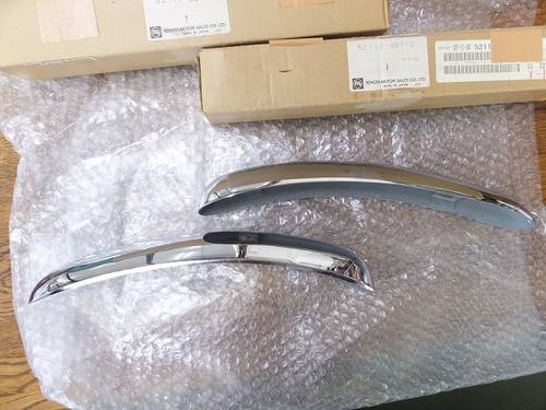 Toyota 2000GT parts Front bumper corner R + L For Sale (picture 5 of 6)