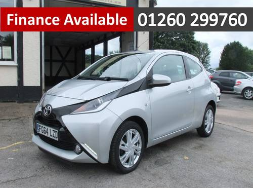 2014 TOYOTA AYGO 1.0 VVT-I X-PRESSION 3DR SOLD (picture 1 of 6)