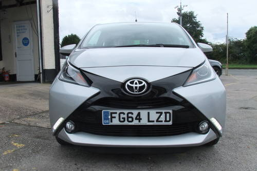 2014 TOYOTA AYGO 1.0 VVT-I X-PRESSION 3DR SOLD (picture 4 of 6)