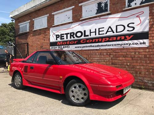 1990 TOYOTA MR2    5 SPEED MANUAL SOLD (picture 1 of 6)