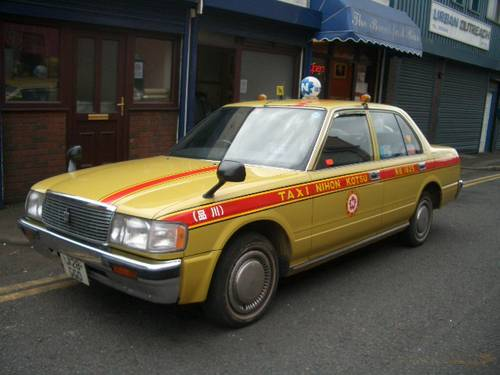 1980 TOYOTA CROWN ORIGINAL JAPANESE TAXI CAB  For Hire (picture 2 of 6)