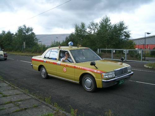 1980 TOYOTA CROWN ORIGINAL JAPANESE TAXI CAB For Hire ...