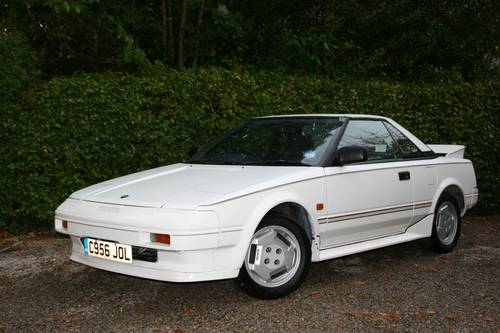 1986 MK1 TOYOTA MR2 - 12 MONTHS MOT AND SUPERB VALUE SOLD (picture 1 of 6)