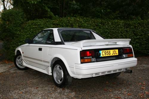 1986 MK1 TOYOTA MR2 - 12 MONTHS MOT AND SUPERB VALUE SOLD (picture 3 of 6)