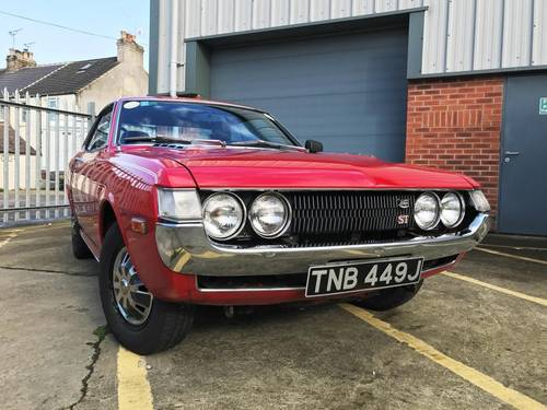 1971 Toyota Celica 1600 ST SOLD (picture 1 of 4)