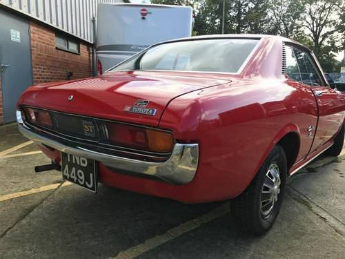 1971 Toyota Celica 1600 ST SOLD (picture 4 of 4)