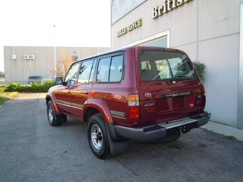 1994 Toyota HDJ 80 LHD SOLD (picture 3 of 6)