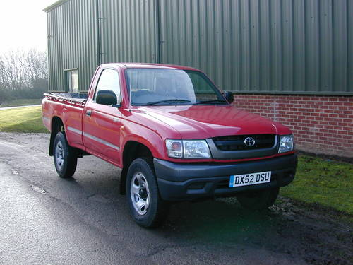 2002 TOYOTA HI LUX Mk4 2.5 D-4D 250 EX DIESEL PICK UP - UK CAR! For Sale (picture 1 of 6)