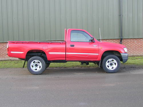 2002 TOYOTA HI LUX Mk4 2.5 D-4D 250 EX DIESEL PICK UP - UK CAR! For Sale (picture 2 of 6)
