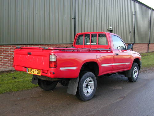 2002 TOYOTA HI LUX Mk4 2.5 D-4D 250 EX DIESEL PICK UP - UK CAR! For Sale (picture 3 of 6)
