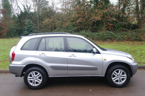TOYOTA RAV4 VVT-i.. GX.. AUTOMATIC.. LOW MILES.. FSH         SOLD (picture 6 of 6)
