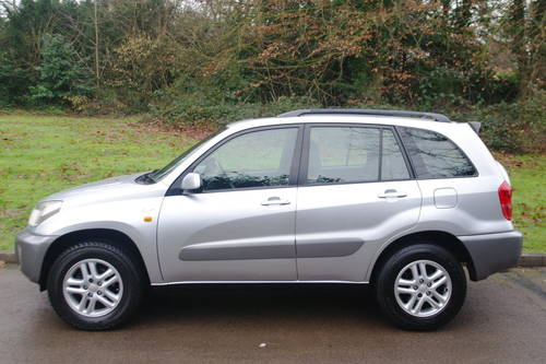 TOYOTA RAV4 VVT-i.. GX.. AUTOMATIC.. LOW MILES.. FSH         SOLD (picture 1 of 6)