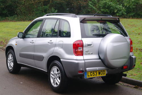 TOYOTA RAV4 VVT-i.. GX.. AUTOMATIC.. LOW MILES.. FSH         SOLD (picture 5 of 6)