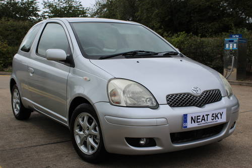 2004 Siver yaris with 1 year MOT SOLD (picture 5 of 6)
