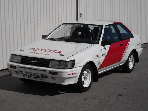 Toyota Corolla 1600GT AE86 Group N SOLD (picture 1 of 6)