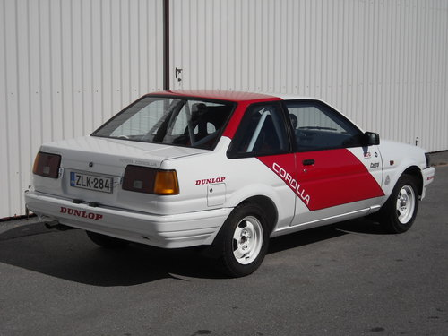 Toyota Corolla 1600GT AE86 Group N SOLD (picture 2 of 6)