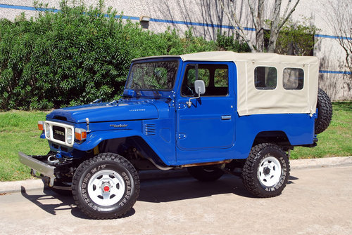 1982 Toyota Land Cruise FJ43 4X4 For Sale (picture 1 of 6)