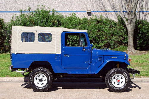 1982 Toyota Land Cruise FJ43 4X4 For Sale (picture 3 of 6)