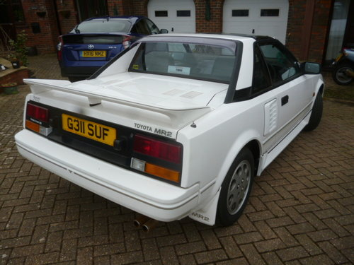 1990 TOYOTA MR2 T BAR  SOLD (picture 2 of 5)