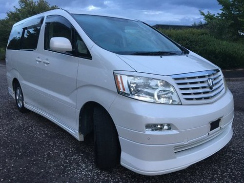 2004 Fresh Import Toyota Alphard 2.4 L 2WD 8 Seats  For Sale (picture 1 of 6)